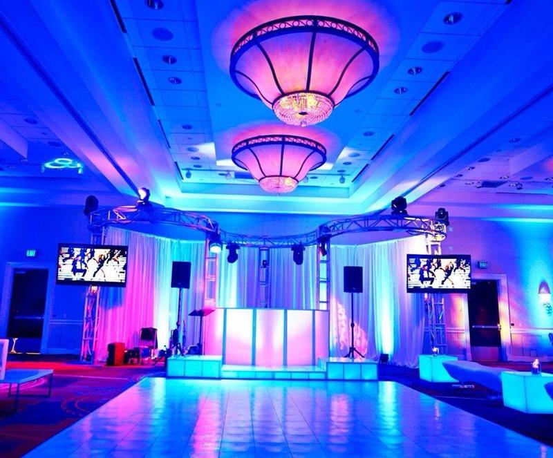 Rockstar Entertainment Montreal | wedding Setup